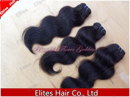Wholesale Mix length pc14 quot pcs16 quot brazilian body wave Human hair weave virgin hair extension