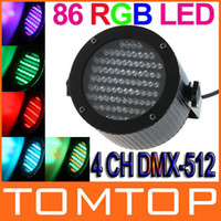 Wholesale Professional Stage light W RGB LED Light Channel DMX512 Control Lighting Laser Projector Stage Party Disco Stage light H8813