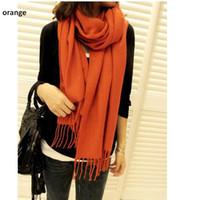 Wholesale Winter Women s lady s scarf shawl lattice cm cm artificial wool