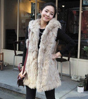 Wholesale Korean Women autumn and winter new imitation rabbit fur leopard shawl vest warm vest fur