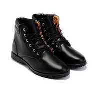 Roman Boots Men Spring and Fall New Fashion Men's High-top Shoes Pointed Toe Leather Boots Martin Boots Free Shipping 39-44