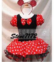 Wholesale kids gallus one piece dress petticoats ballet skirt dance performance dress contain hair bands P112