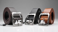 Wholesale Fashion Korea Style All Match Couple Belt Genuine Leather Pin Buckle