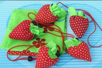 Wholesale Strawberry Bag cheap Reusable bags Shopping bag Environmental bag