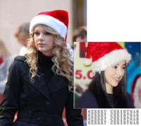 Wholesale Soft Christmas Cap Adult Christmas Hats Santa hat cm Christmas gift