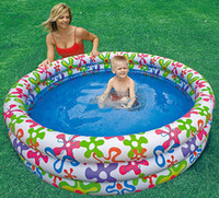 Wholesale children s inflatable swimming pool intex inflatable pvc swimming pool for kids Free DHL shipping