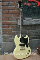 Solid Body 6 Strings Mahogany new arrival guitar sg cream yellow mahogany electric guitar China Guitar