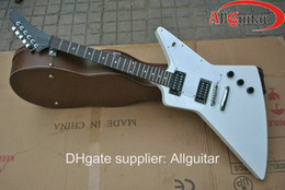white 1958 explorer electric guitar China Guitar HOT SALE