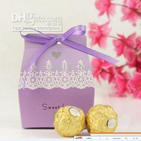 Wholesale European style wedding supplies candy bag wedding Favors groom bride dress candy box