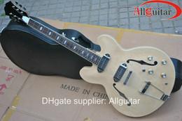 natural casino 335 jazz Semi Hollow electric guitar HOT SALE