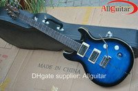 Wholesale Santana th Anniversary Sapphire Smokeburst electri guitar