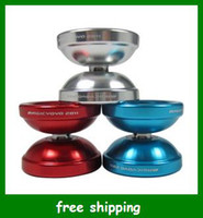 Wholesale Magic yoyo T6 Super bow Advanced aluminum alloy Metal ball Kids toys Christmas Gifts