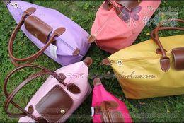 Wholesale waterproof nylon folding shoulder bag shopping bag mummy bags LARGE HANDBAG tote bag MMB08