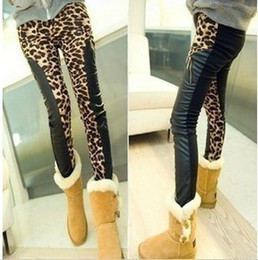 Wholesale 2012 Autumn Women s Leopard mix colours Leggings Lady pants
