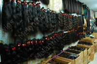 african american wigs weaves - 100 Brazilian Virgin pc quot pc quot Remy Hair Weft Weave Natural Black OZ PACK