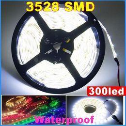 DC12V SMD 3528 Flexible LED Strip Light 60led m Waterproof led strip 5M 300led Garden Wedding White