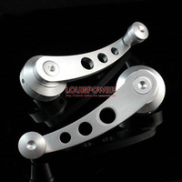 Wholesale Aluminum Window Crank Handle Universal Car Window Winder Silver Color