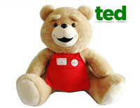 Wholesale cm quot Teddy Bear TED Plush Dolls Man s Ted Bear Stuffed Plush Toys New Movie