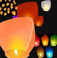 Sky Lantern Holiday  Coloured Sky Lanterns Chinese Fay Balloon Christmas gift Wishing Lamp Festive Decorative Lanterns