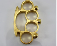 knuckle dusters - GOLD SKULL knuckle duster KNUCKLES Belt Buckle