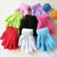 Wholesale Kindergarten children small lovely students stage dancing white gloves gloves show etiquette more color gloves