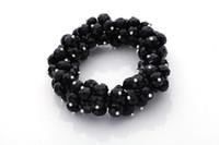 Wholesale European style pc Fashion handmade Crystal Rhinestone bead Charm bracelet bangle Jewelry