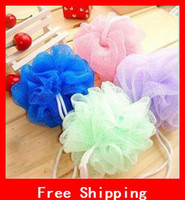 Wholesale Colorful Nylon Mitt Bath Brushes Sponges amp Scrubbers Scrubber Moisturizing Bath Gloves Flower Sponge