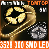 Wholesale Warm White light M roll Waterproof Epoxy led string SMD LED Strip Lighting H8331WW