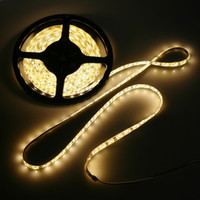 waterproof led lights - White Warm White lighting M SMD leds Waterproof Epoxy SMD LED Strip string Light DC V IP65 H8331W