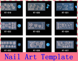 Wholesale Fashion D Acrylic Nail Art Mold DIY Decoration New