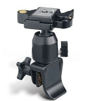 Wholesale Metal Tripod Ball Head Holder Car Door Window Mount For Video Camera DV Camcorder