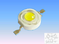 Wholesale 1W led CHINA CHIP mil warm white and cool white high light