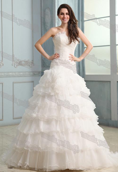 Strapless Bustier For Wedding Dress - Ocodea.com