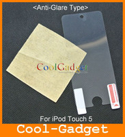 Wholesale Frosted Matte LCD Screen Protector Guard Film Cover Shield for iPod touch without RP MSP535