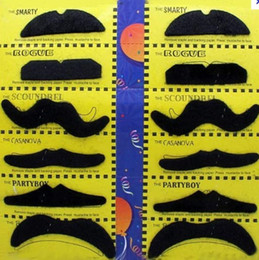 Wholesale 12 false beard Halloween party costume moustache Santa Claus beard humor Christmas toys