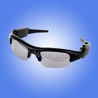 Wholesale DV Mobile Eyewear Sunglasses Recorder Spy Video Camera Hidden Sun Glass DVR Mobile Eyewear Recorder