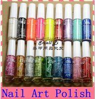 Cheap 18 Colors Nail Art Brush & Nail Pen Varnish Polish Nail Tools Set