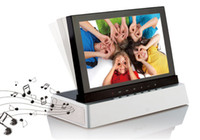 Wholesale 7 inches touch audio digital photo frame Touch acoustic simulation screen