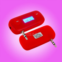 Wholesale FM Handsfree Transmitter for iphone4s iphone4 g gs ipod