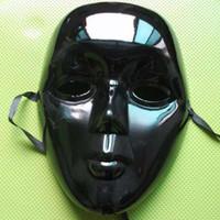EMS gratis Moda Halloween máscara completa máscara veneciana carnaval máscara Masquerade máscaras V3601 blanco negro