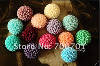 Wholesale 10mm mm Resin Flower Cabochons for Jewelry Mobile phone DIY Decoration Resin Cabochon