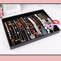 jewelry Wooden Chirstmas Necklace Bracelet Tray Jewelry Display Trays wooden pallet chains shoecase cheap jewelry display