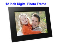 Wholesale 12 inch LCD Digital Photo Picture Frame MP3 MOVIE x768 Black