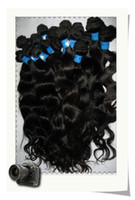 Wholesale Mix length14 quot quot quot Brazilian Virgin Remy Hair Weft Natural Color Weave Body Wave g FreeShipping