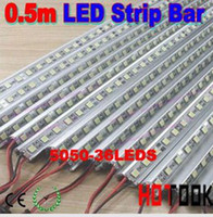 Wholesale 5050 m LED V Hard Strip Bar Light Aluminium Alloy Shell Housing Ship via Express