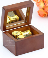 Wholesale Music boxes Christmas baby gifts Sound instruments Japan sankyo gold plated movement