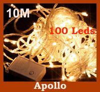 LED light ornaments - Xmas m Led String Light Christmas Wedding Party Holiday Decoration Light Led Fairy Flash Light Ornament String Lamp With Tail Plugs
