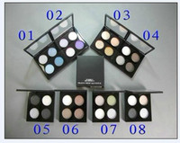 Cheap best quality make up *Limited Edition 4 color eye shadow Palette 10g 8 different color 24PCS