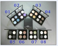 7 Colors Cream  make up Limited Edition 4 color eye shadow Palette 10g   8 different color 120PCS