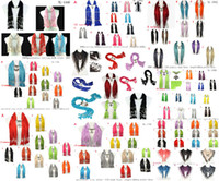 Polyester bead weaving designs - Mixed Design Mixed colors Handmade tassel Scarf Beads Charms Jewelry scarves necklace for Women accessories MD